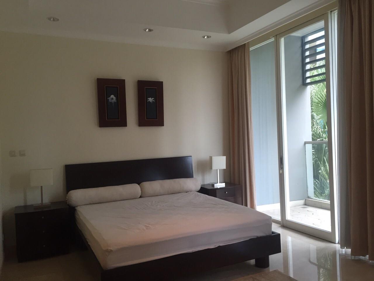 bedrooms furnished for rent sudirman residence jakarta